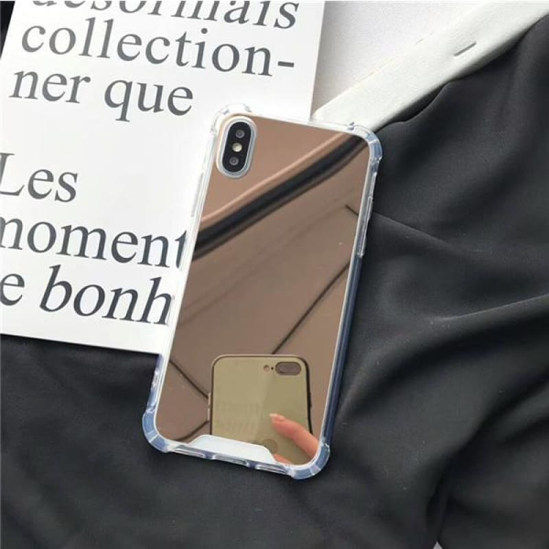 Mirror Case - Rose Gold / iPhone X