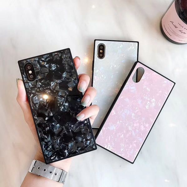 Textured Pearl iPhone Case