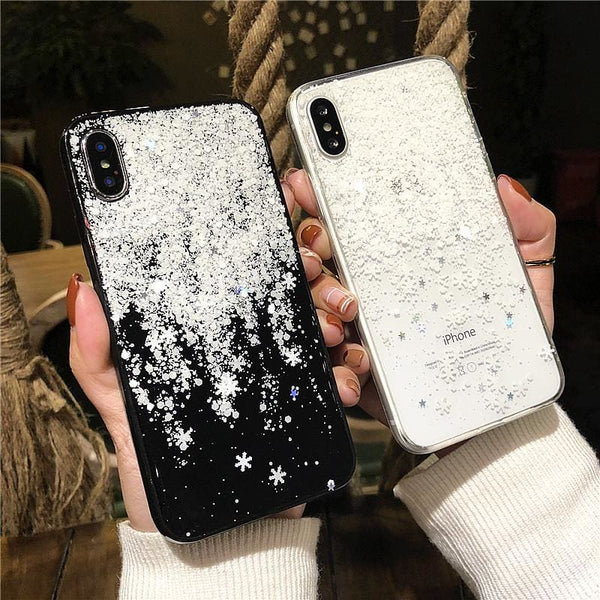 Shiny Snowflakes Case