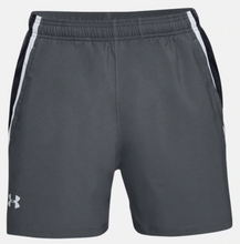 "Load image into Gallery viewer, Under Armour Men's Launch SW 5"" Running Shorts - Grey/Black"