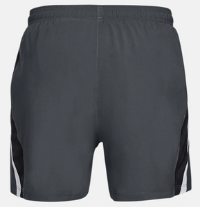 "Under Armour Men's Launch SW 5"" Running Shorts - Grey/Black"