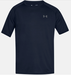 Under Armour Men's Tech 2.0 Short Sleeve Tee Shirt - Navy (408)