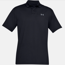 Load image into Gallery viewer, Under Armour Men's Performance Polo Textured - Black (001)
