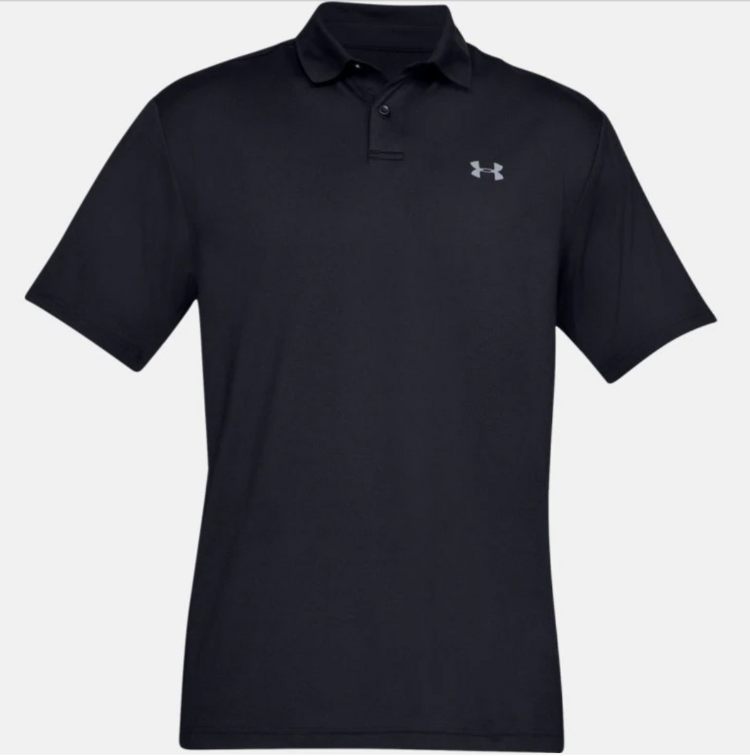 Under Armour Men's Performance Polo Textured - Black (001)