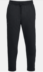 Under Armour Men's Rival Fleece Tracksuit Bottoms/Trousers - Black (001)