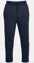 Load image into Gallery viewer, Under Armour Men's Rival Fleece Tracksuit Bottoms/Trousers - Navy (408)