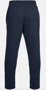 Under Armour Men's Rival Fleece Tracksuit Bottoms/Trousers - Navy (408)