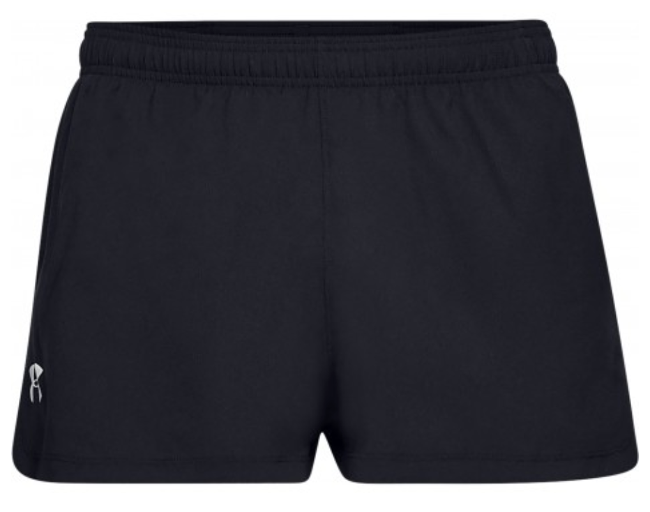 Under Armour Men's Launch SW Split Shorts - Black (001)