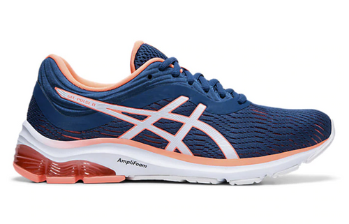 Asics Women's Gel-Pulse 11 Running Shoes - Mako Blue/Sun Coral