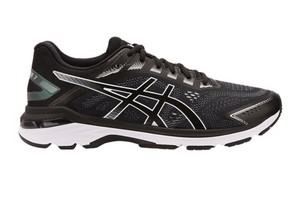 Asics Men's GT-2000 7 Running Shoes - Black/White