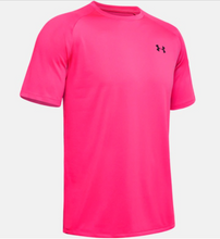 Load image into Gallery viewer, Under Armour Men's Tech 2.0 Short Sleeve Tee Shirt -  Pink (687)