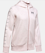 Load image into Gallery viewer, Under Armour Women's Rival Fleece Full-Zip - Dash Pink (667)