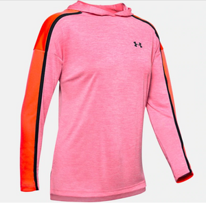 Under Armour Women's Tech Twist Graphic Hoody - Lipstick (691)