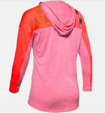 Load image into Gallery viewer, Under Armour Women's Tech Twist Graphic Hoody - Lipstick (691)