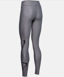 Under Armour Women's HG Armour Swerve Legging - Carbon Heather (090)