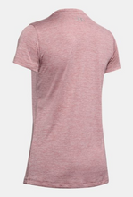 Load image into Gallery viewer, Under Armour Women's UA Tech™ Twist T-Shirt - Hushed Pink (662)