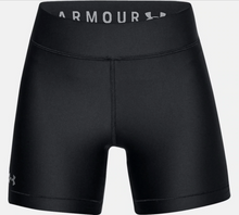 Load image into Gallery viewer, Under Armour Women's HG Armour Middy Short -  Black (001)