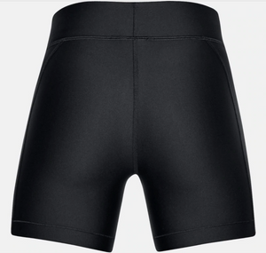 Under Armour Women's HG Armour Middy Short -  Black (001)