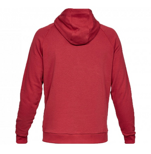 Under Armour Men's Rival Fleece Hoody - Aruba Red (651)
