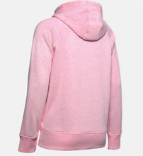 Load image into Gallery viewer, Under Armour Women's Rival Fleece Logo Hoody - Lipstick (691)