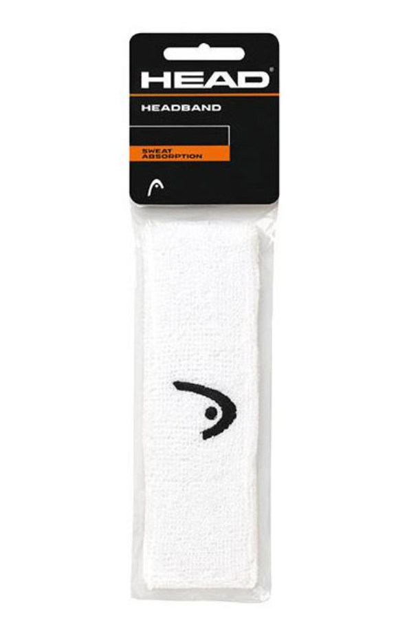 Head Tennis Sports Headband - White