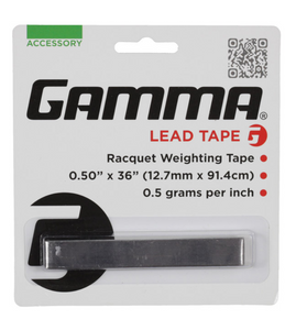 "Gamma Racket Customisation Lead Tape - 1/2"" x 36"" (12.7mm x 91.4cm)"