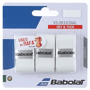 Babolat VS Original Overgrips - White (3 pack)