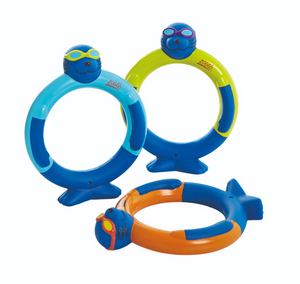 Zoggs Zoggy Dive Rings Swimming Pool Toy