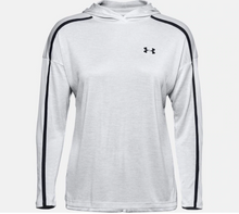Load image into Gallery viewer, Under Armour Women's Tech Twist Graphic Hoody - Halo Grey (014)