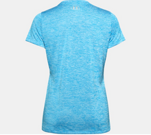 Load image into Gallery viewer, Under Armour Women's Twist Tech™ V-Neck T-Shirt - Equator Blue (419)