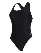 Load image into Gallery viewer, Zoggs Women's Coogee Sonicback Swimsuit - Black