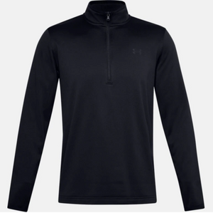 Under Armour Men's Armour Fleece 1/2 Zip - Black (001)