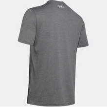 Load image into Gallery viewer, Under Armour Men's Big Logo Wordmark Short Sleeve T-Shirt - Pitch Grey (013)