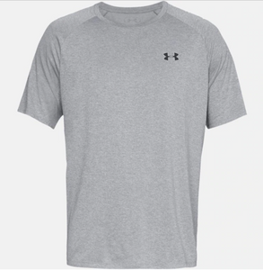 Under Armour Men's Tech 2.0 Short Sleeve Tee Shirt - Steel Light Heather (036)