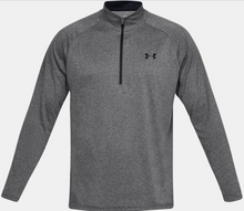 Load image into Gallery viewer, Under Armour Men's Tech™ 2.0 ½ Zip Long Sleeve - Carbon Heather (090)
