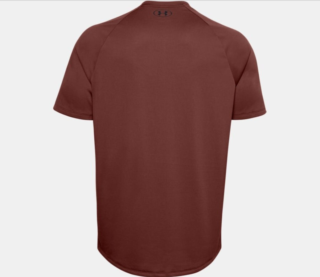 Under Armour Men's Tech 2.0 Short Sleeve Tee Shirt -  Cinna Red (688)
