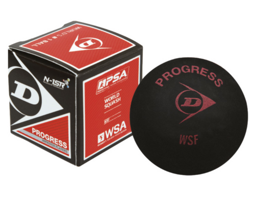 Dunlop Progress Red Dot Squash Ball - single