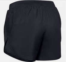 Load image into Gallery viewer, Under Armour Women's Fly By 2.0 Shorts - Black (001)