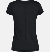Load image into Gallery viewer, Under Armour Women's Armour Heatgear T-Shirt - Black (001)
