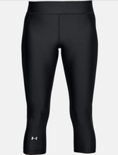 Load image into Gallery viewer, Under Armour Women's HG Armour Capri - Black (001)