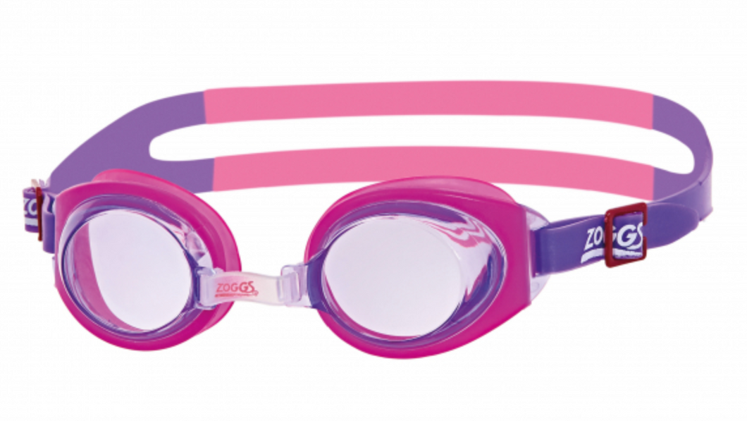 Zoggs Little Ripper Junior Swimming Goggles - Pink/Purple (0-6 years)