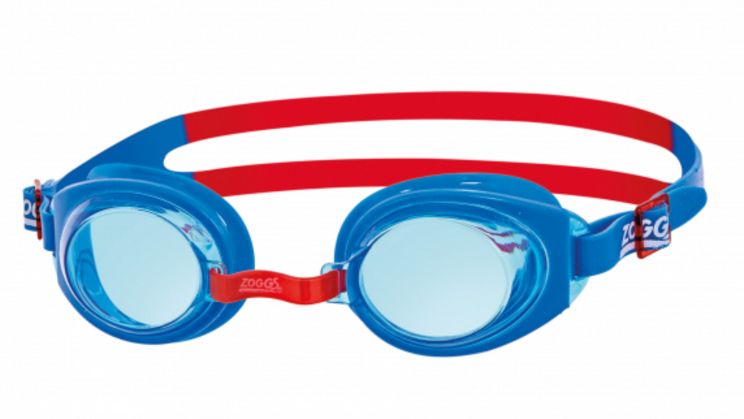 Zoggs Ripper Junior Swimming Goggles - Red/Blue (6-14 years)