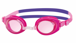 Zoggs Ripper Junior Swimming Goggles - Purple/Pink (6-14 years)