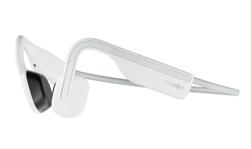 Aftershokz OPENMOVE Wireless Bone Conduction Headphones - Alpine White