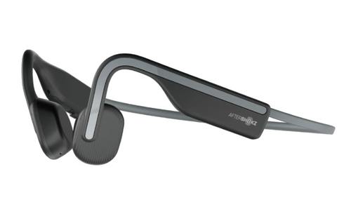 Aftershokz OPENMOVE Wireless Bone Conduction Headphones - Slate Grey