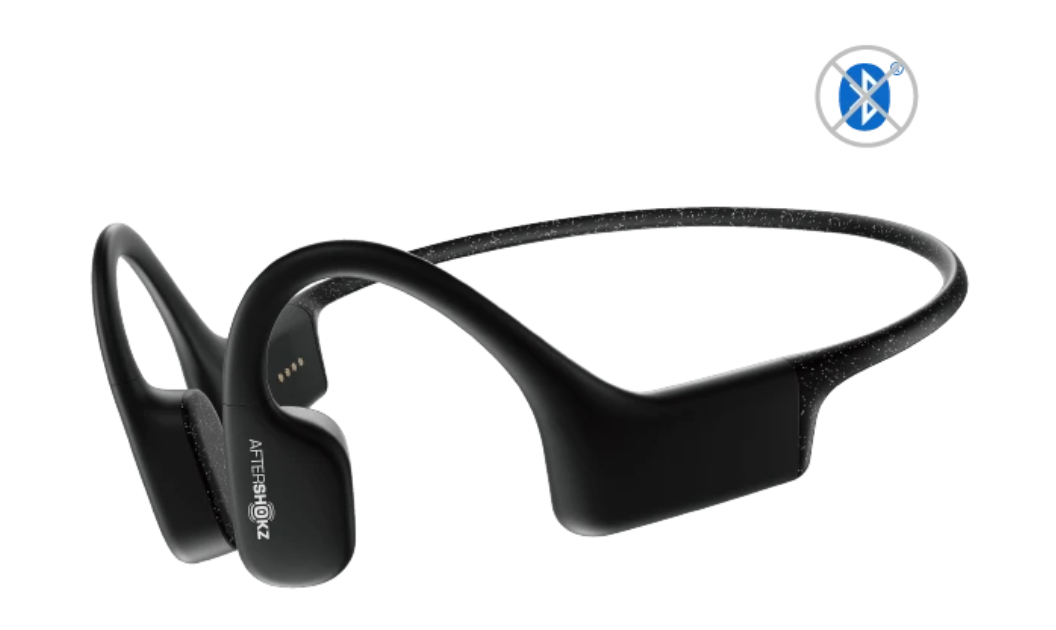 Aftershokz XTRAINERZ Waterproof Bone Conduction MP3 Headphones - Black Diamond