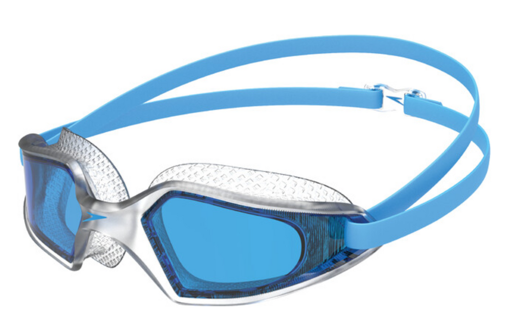 Speedo Hydropulse Swimming Goggles - Clear/Blue Lens