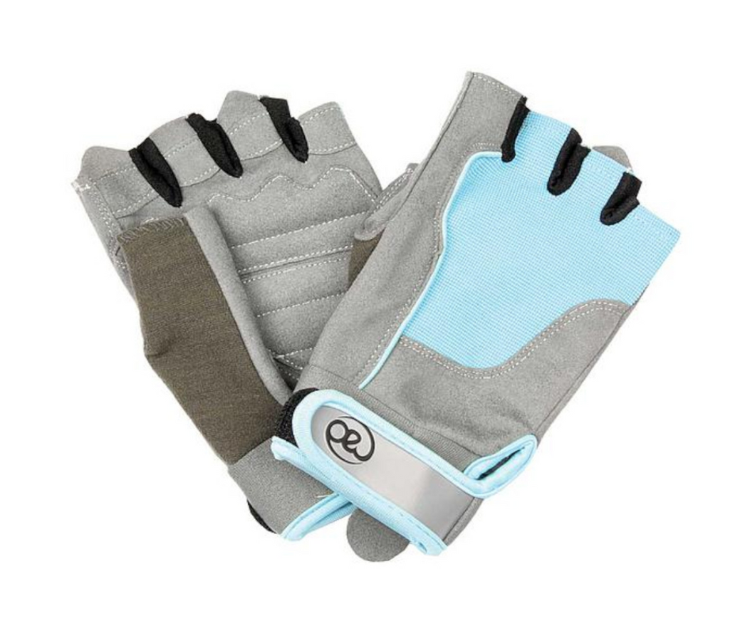 Fitness Mad Womens Cross Training Gloves - Blue