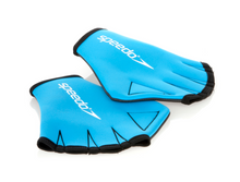 Load image into Gallery viewer, Speedo Aquatic Swim Training MItts Gloves - Blue/Black