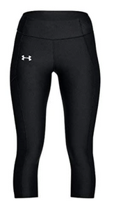 Under Armour Women's Heatgear Speed Stride Capri - Black (001)